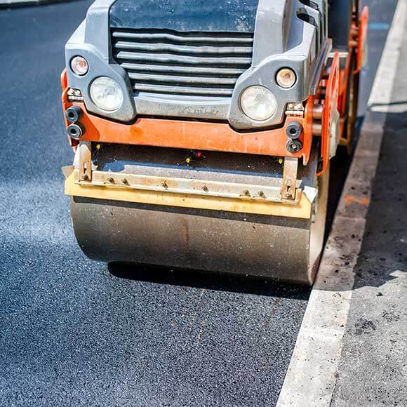 tarmac Contractors roller