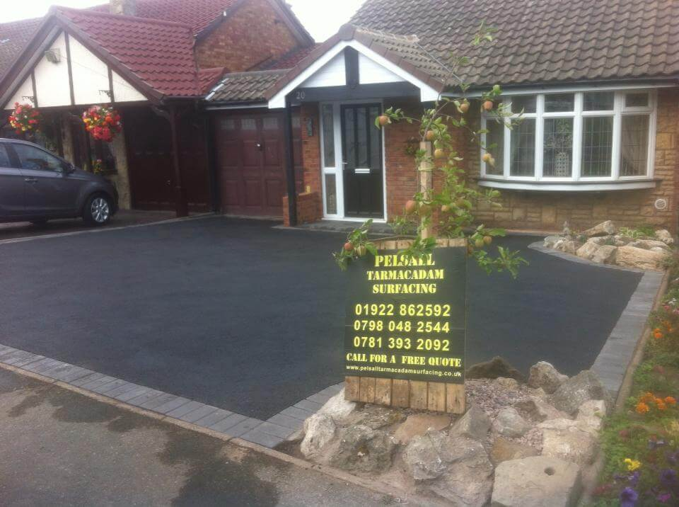 tarmac Tamworth residential