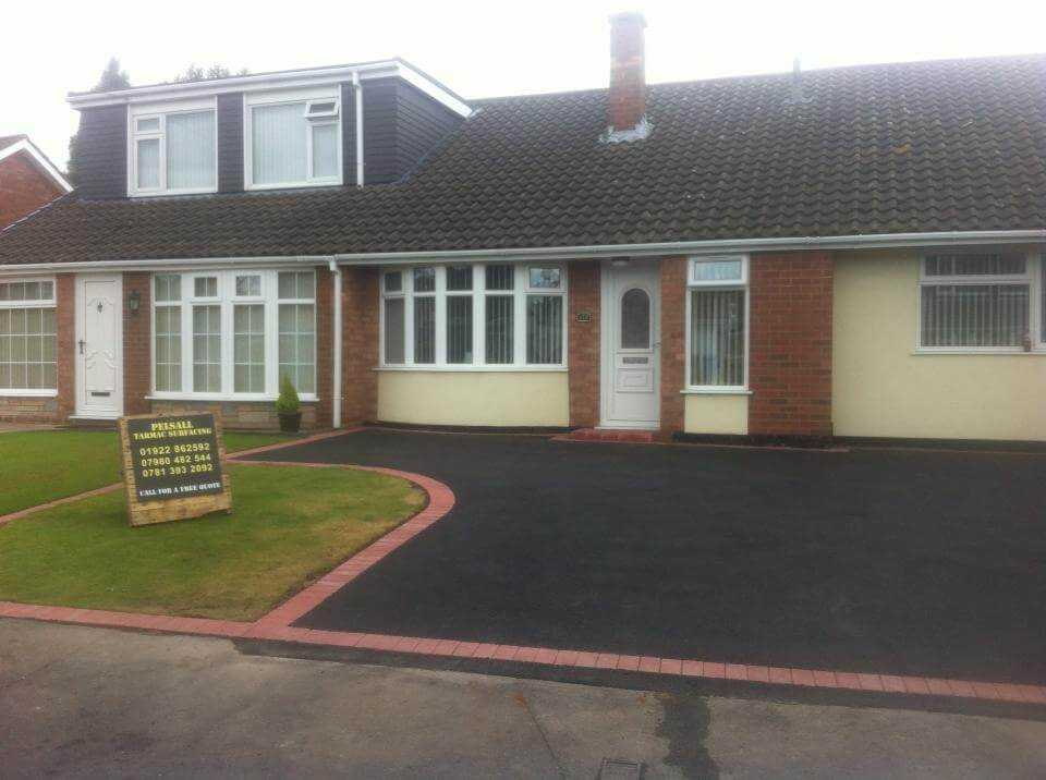 tarmac Driveways Tamworth surface