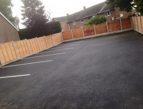 Pelsall Surfacing Contractors Carpark