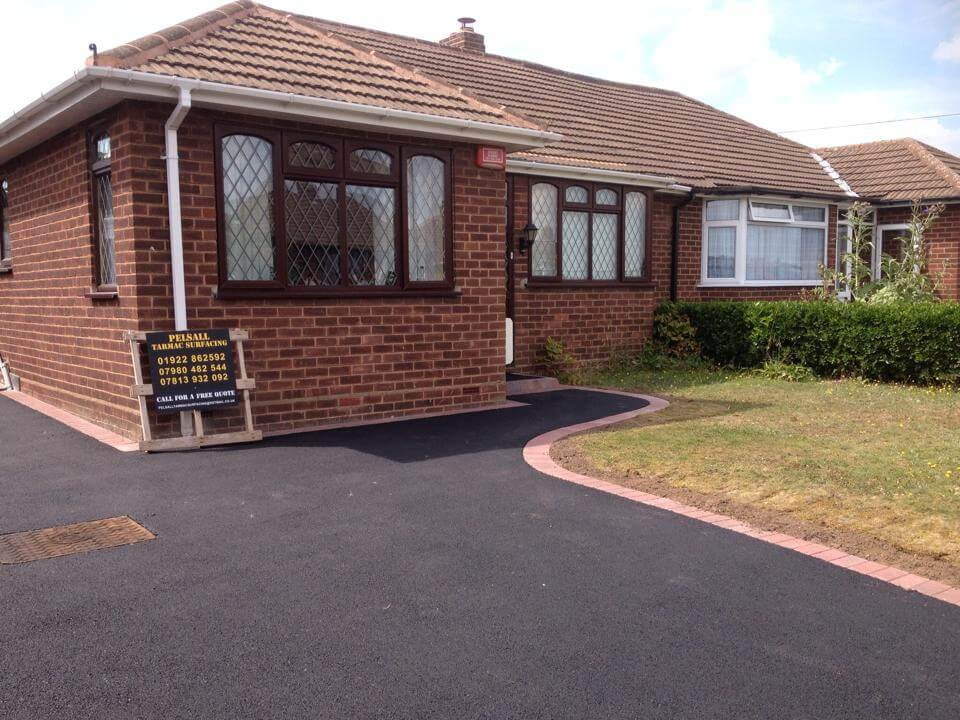 tarmac Driveways Sutton Coldfield home