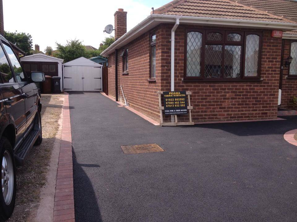 tarmac Driveways Cannock residential