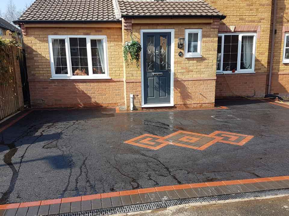Diamond Feature Driveway Walsall