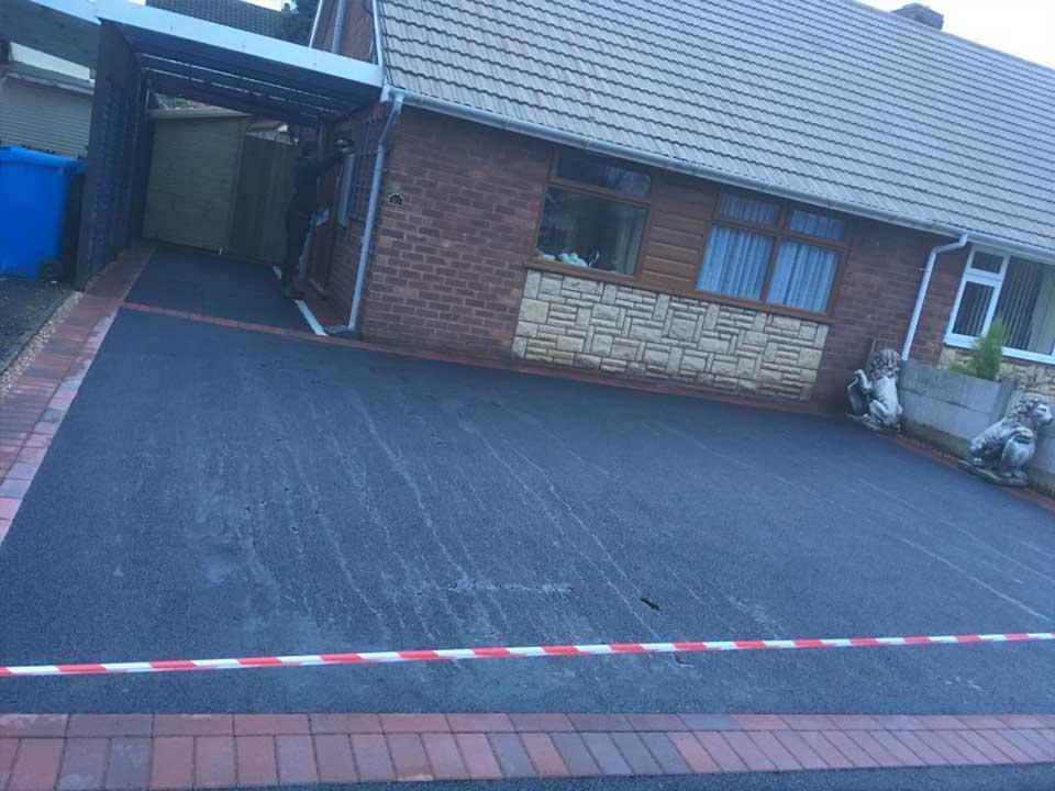 New driveway Cheslyn Hay Cannock