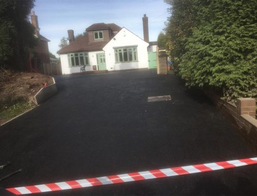 New Walsall Wood Driveway
