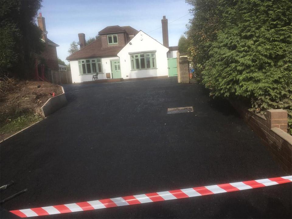 New Walsall Wood Driveway
